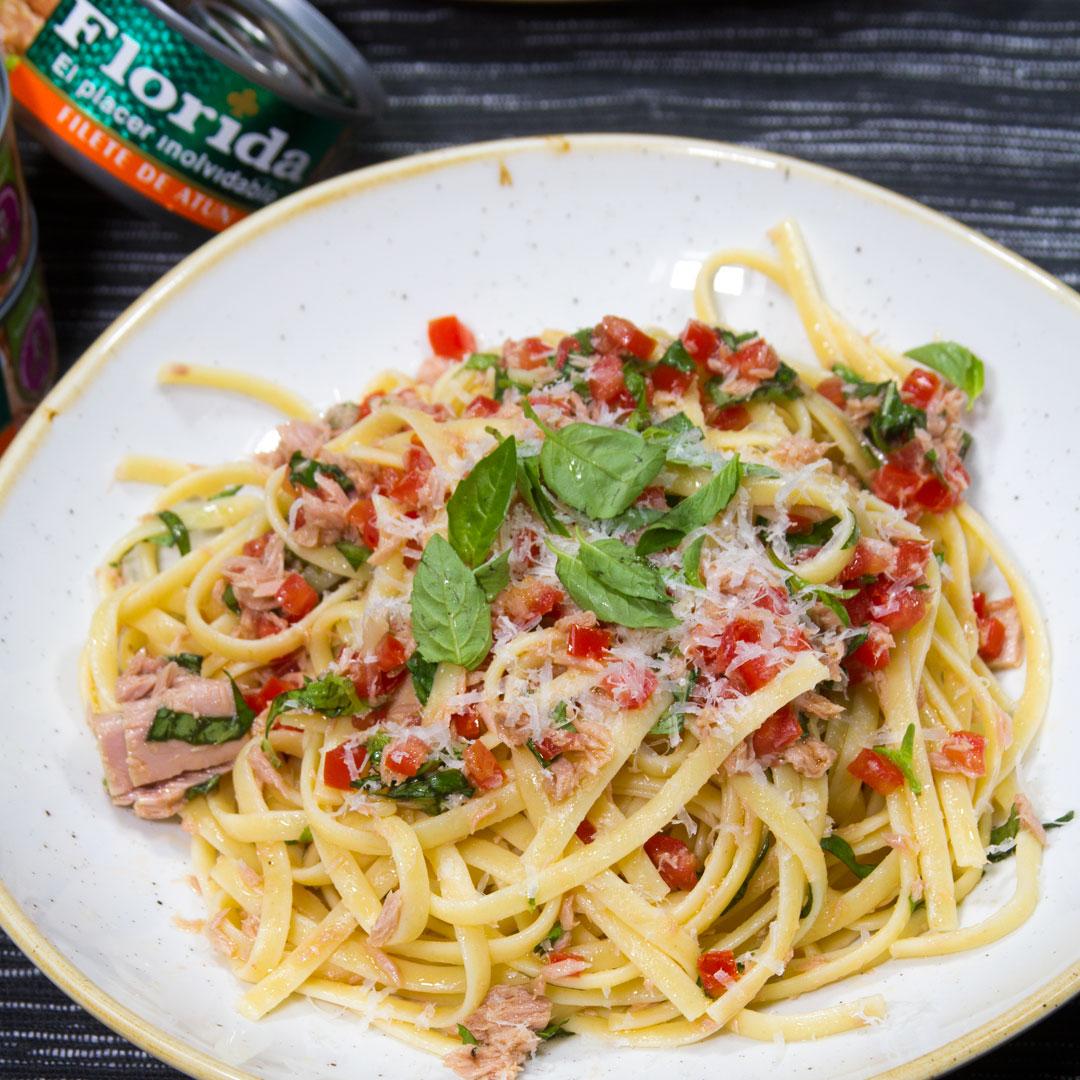 Tallarines Con Atún A La Italiana A Comer