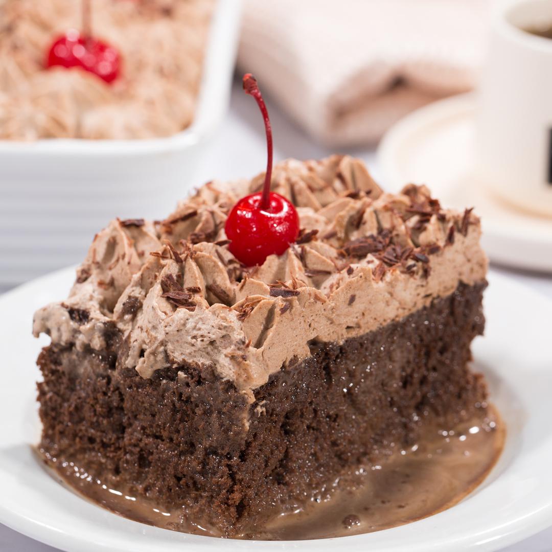 Torta Tres Leches De Chocolate