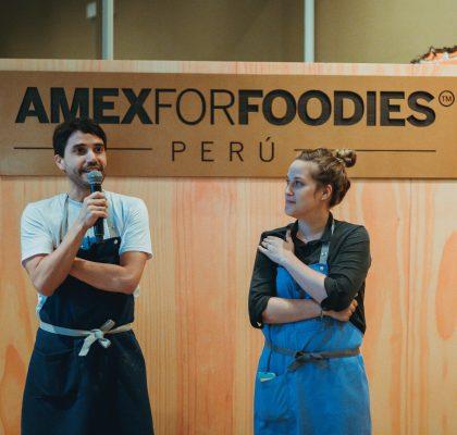 Lanzamiento AMEXFORFOODIES en Perú